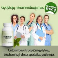 Veiksmingas organizmo valymas su Untoxin