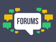 Forumai, Internetiniu svetainių reklama forumuose