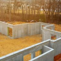 Pamatu betonavimas