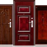 Šarvuotos durys, metaliniai garažo vartai