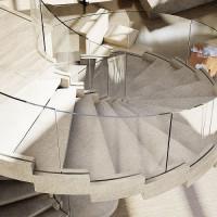 Laiptu gamyba - Foje mediniai laiptai